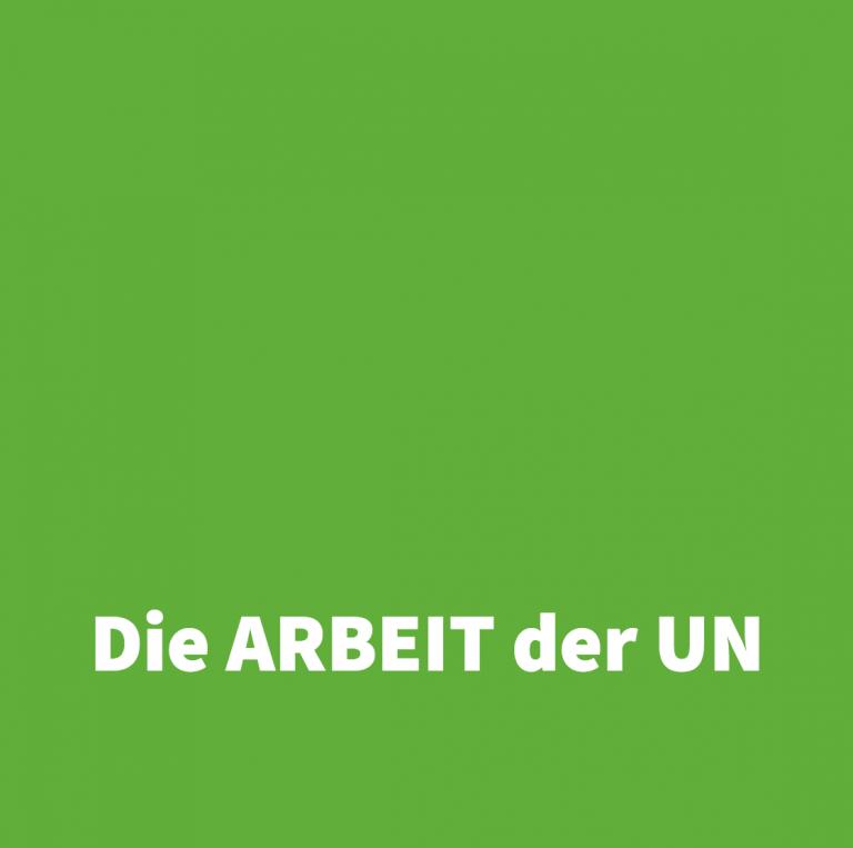DIE ARBEIT der UN Workshop beim foodsharing Festivals 2018 - Rubrik...der Umwelt als Ganzes